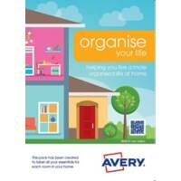 Avery S0642 Multipurpose Labels Organise Your Home Special format Assorted 217 x 304 mm