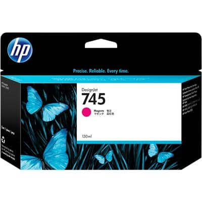 HP 745 Original Ink Cartridge F9J95A Magenta