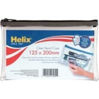 Helix Pencil Case 20 x 12.5 cm Clear