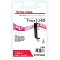 Office Depot Compatible Canon CLI-521M Ink Cartridge Magenta