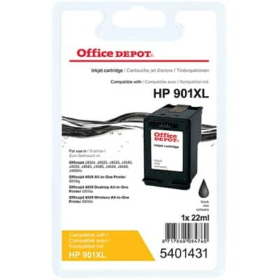 Office Depot Compatible HP 901XL Ink Cartridge CC654A Black