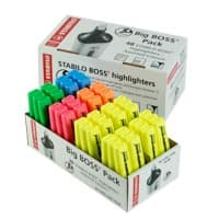 Stabilo Boss Highlighter Assorted Store Pack of 48