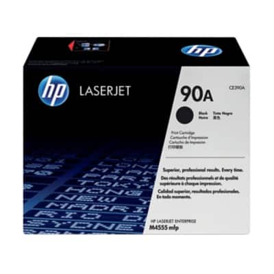 HP 90A Original Toner Cartridge CE390A Black