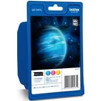 Brother LC1280XL Original Ink Cartridge 3 Colours Pack of 3
