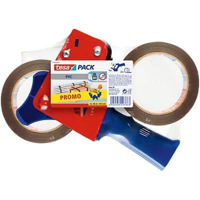 tesapack Tape Dispenser Gun Tesapack 4120 Red, Blue 19.9 x 6.5 x 24.9 cm