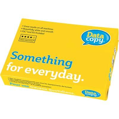 Data Copy Something for Everyday Copy Paper A4 90gsm White 500 Sheets