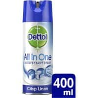 Dettol Disinfectant All In One Crisp Linen 400 ml