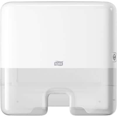 Tork Hand Towel Dispenser Xpress Multifold Mini Plastic White 30.5 x 10.1 x 29.5 cm