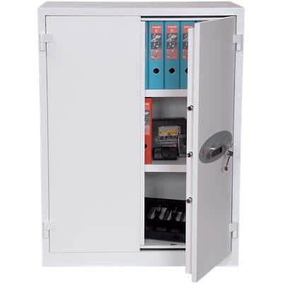 Phoenix Fire Safe with Key Lock FS1512K 361L 1225 x 930 x 520 mm White