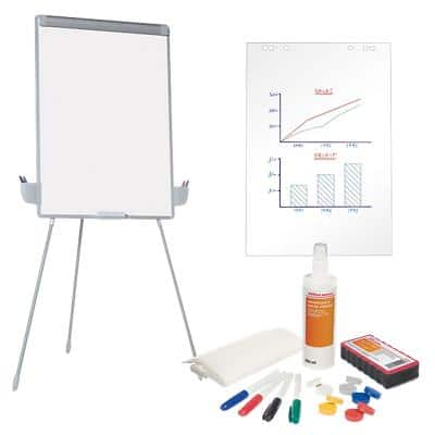 Office Depot Freestanding Easel Bundle with Adjustable Height 70 x 100cm Assorted