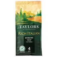 Taylors of Harrogate Rich Italian Ground Coffee Bag 227g