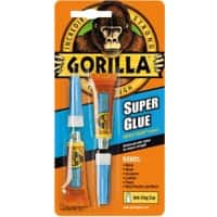 Gorilla Super Glue Transparent 3 g Pack of 2