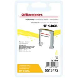 Office Depot Compatible HP 940XL Ink Cartridge C4909AE Yellow