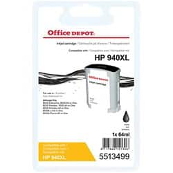 Office Depot Compatible HP 940XL Ink Cartridge C4906AE Black