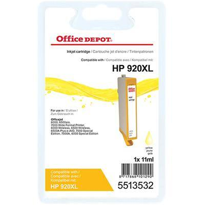 Office Depot Compatible HP 920XL Ink Cartridge CD974A Yellow