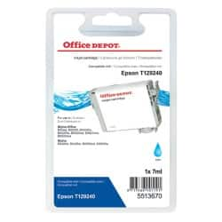 Office Depot Compatible Epson T1292 Ink Cartridge T12924010 Cyan