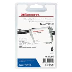 Office Depot Compatible Epson T1291 Ink Cartridge T12914010 Black