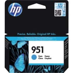 HP 951 Original Ink Cartridge CN050AE Cyan