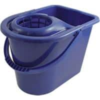 Bentley Bucket with Wringer Plastic Blue 15L