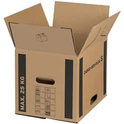 Cargo Box Plus Cardboard Boxes 400 x 320 x 320 mm - Pack of 10