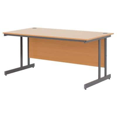 Office Desk Classic Beech 1,200 x 800 x 725 mm