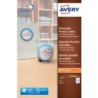 Avery L7104REV-20 Round Product Labels Ø 60 mm White 240 Labels