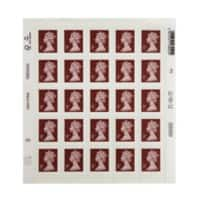 Royal Mail 5p Postage Stamps Self Adhesive Pack of 25