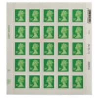 Royal Mail 20p Postage Stamps 25 Pieces
