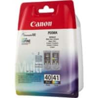 Canon 40 / 41 Original Black & 3 Colours Ink Cartridge 0615B043