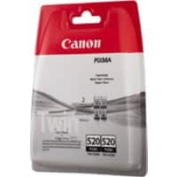 Canon PGI-520BK Original Ink Cartridge Black 2 Pieces