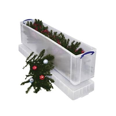Really Useful Box Plastic Storage 77 Litre 270 x 355 x 1200 mm