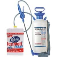 Pow R Plus Ice Melt and Sprayer Assorted 51.4 x 52.1 x 58.4 cm 7000 g