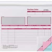 3-Part Purchase Order Books 203 x 178 mm