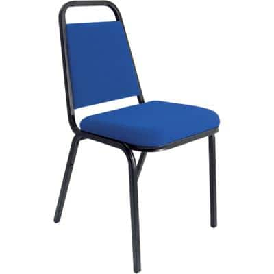 dynamic Stacking Chair Banqueting Blue 4 Pieces