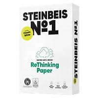 Steinbeis 100% Recycled No.1 Paper A4 80 gsm Off-White 55 CIE 500 Sheets