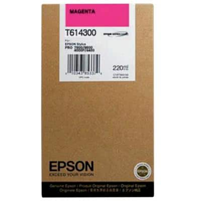 Epson T6143 Original Ink Cartridge C13T614300 Magenta