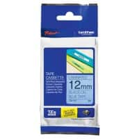 Brother P-Touch TZe-531 Labelling Tape Black On Blue 12 mm x 8 m
