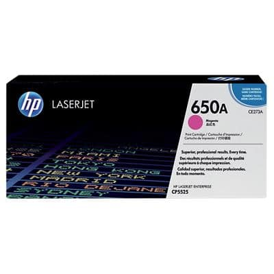 HP 650A Original Toner Cartridge CE273A Magenta