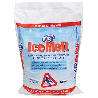 Magic Ice Melt Winter Supplies White 10000 g 10 kg