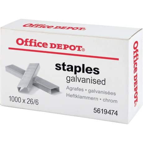 Office Depot Staples 26/6 1000 staples