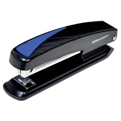 Office Depot Stapler Full Strip for 26/6 and 24/6 Staples Black 20 sheets