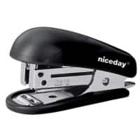 Niceday Stapler Mini 20 Sheets Black