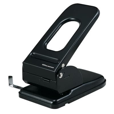 Office Depot 2 Hole Punch 9670 Black 65 Sheets