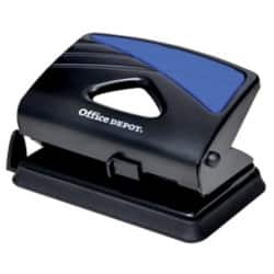 Office Depot Metal Two Hole Punch - Up to 20 Sheet Capacity