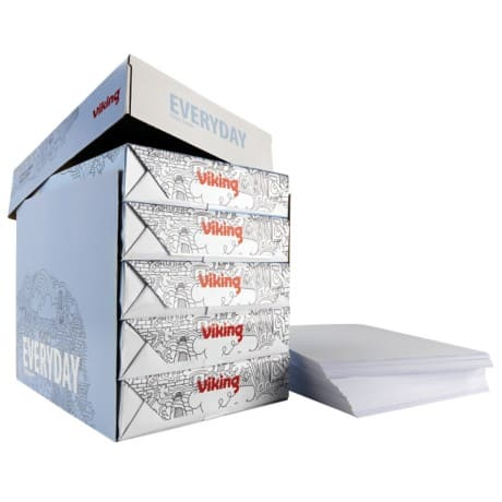 Viking Everyday Copier Paper A4 80gsm White 5 Pieces of 500 Sheets