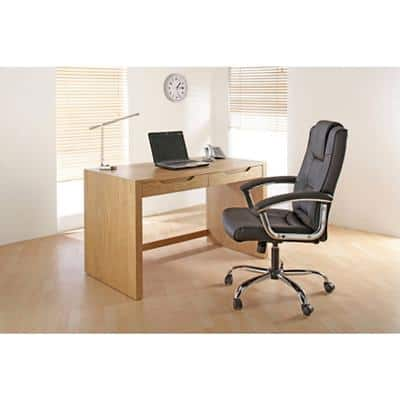 Alphason Desk Butler Oak 1,200 x 650 x 740 mm