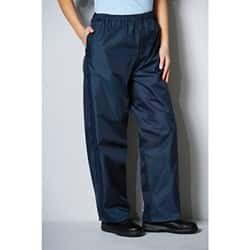 Alexandra unisex fit  Waterproof Trousers Navy size  Small 71 - 76 cm