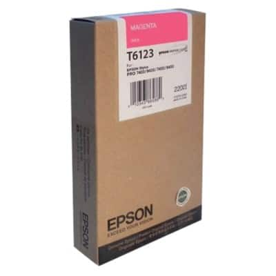 Epson T6123 Original Ink Cartridge C13T612300 Magenta