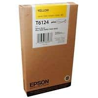 Epson T6124 Original Ink Cartridge C13T612400 Yellow