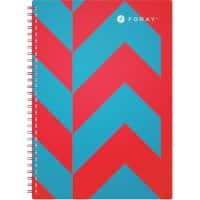 Foray Notebook Extreme A4 Ruled Turquoise 100 Sheets